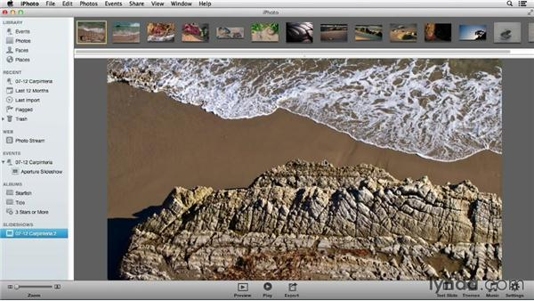 Comparing iPhoto and Aperture for exporting slideshows: Using iPhoto and Aperture Together