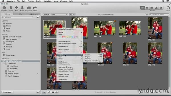 Comparing iPhoto and Aperture exporting tools: Using iPhoto and Aperture Together