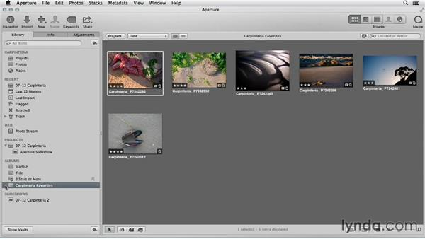 Cleaning up your iPhoto library in Aperture: Using iPhoto and Aperture Together