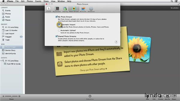 Deciding which application manages your Photo Stream: Using iPhoto and Aperture Together