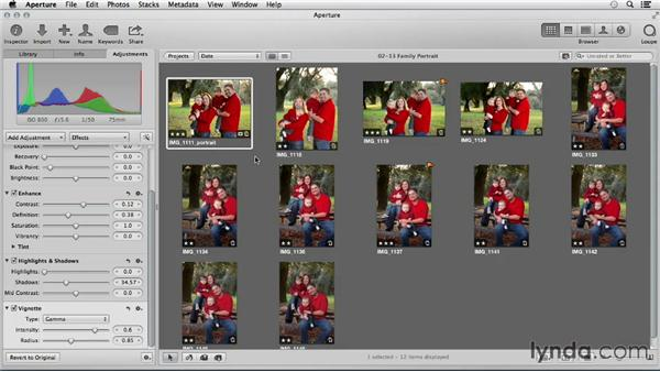 Options for backing up your Aperture library: Using iPhoto and Aperture Together