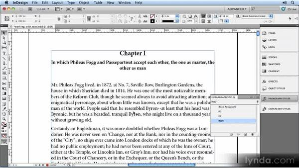 The importance of level 1 entries: Creating Ebooks with InDesign CS5
