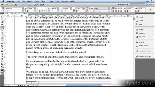 Working with notes: Creating Ebooks with InDesign CS5