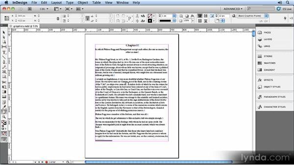 Adding graphics: Creating Ebooks with InDesign CS5