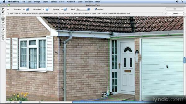 Working on new layers: Creating Perspective with Photoshop