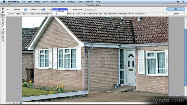 Copying the window: Creating Perspective with Photoshop