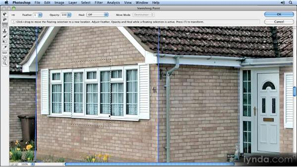Extending the window: Creating Perspective with Photoshop