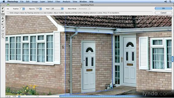 Copying the door: Creating Perspective with Photoshop