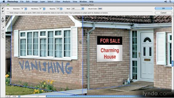 Adding graffiti: Creating Perspective with Photoshop