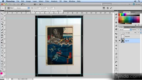 Correcting lens distortion: Creating Perspective with Photoshop
