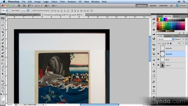 Tidying up: Creating Perspective with Photoshop