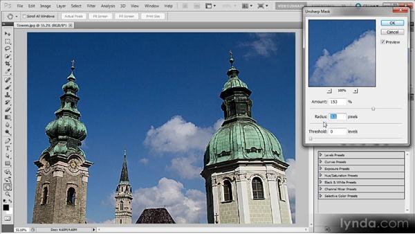 Sharpening for output: Photoshop Sharpening Power Workshop