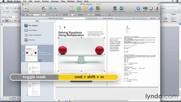 Starting a lesson from Microsoft Word: iBooks Author for Teachers: Creating a Math Lesson