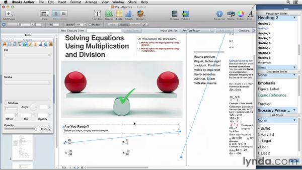 : iBooks Author for Teachers: Creating a Math Lesson