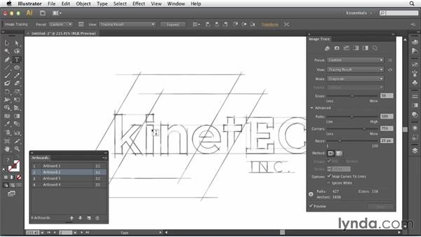 Setting your expectations: Tracing Artwork with Illustrator