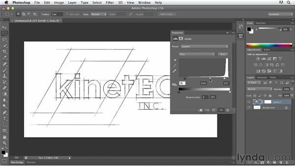 Cleaning up raster artwork: Tracing Artwork with Illustrator