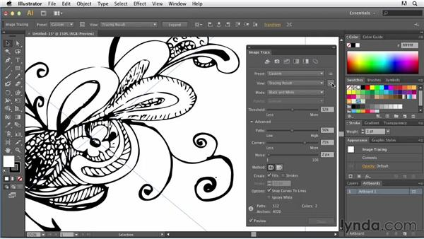Basic Design Line : Basic tracing line art