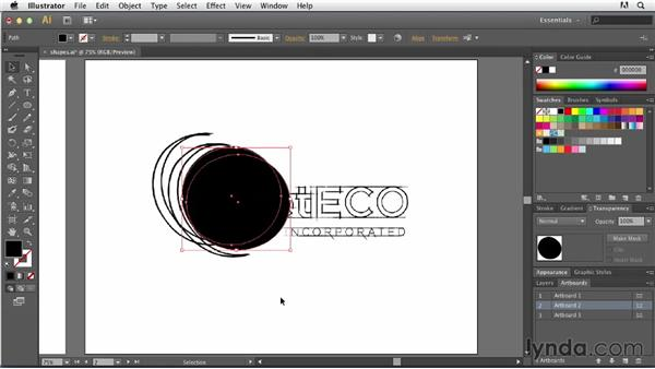 Exploring the Shape Builder tool: Tracing Artwork with Illustrator