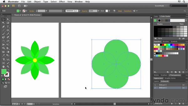 Creating complex shapes: Tracing Artwork with Illustrator
