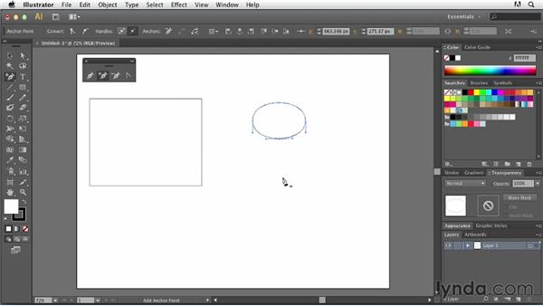 Basic Pen tool operations: Tracing Artwork with Illustrator