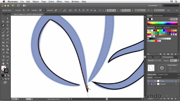 Tracing curves and complex areas: Tracing Artwork with Illustrator