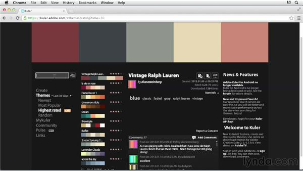 Creating a color palette: Tracing Artwork with Illustrator
