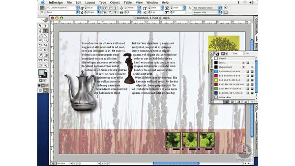 working with gradients: InDesign CS Essential Training