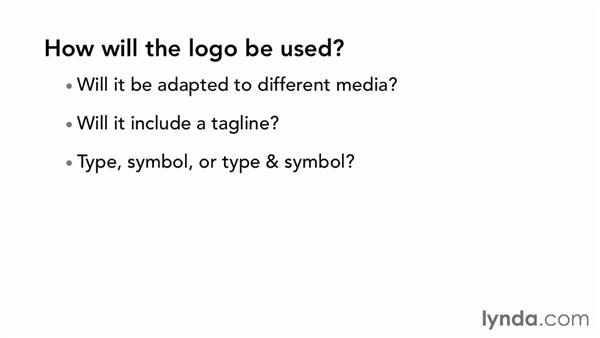How will the logo be used?: Designing a Logo for a Media Company