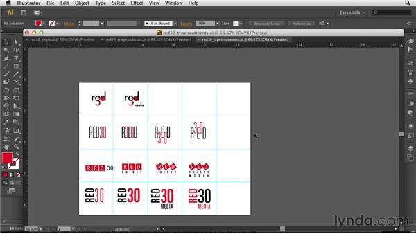 Getting feedback: Designing a Logo for a Media Company