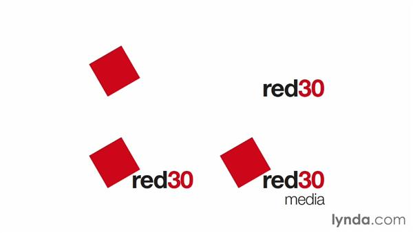 Presenting concepts to your client: Designing a Logo for a Media Company