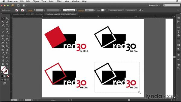 Finalizing the logo: Designing a Logo for a Media Company