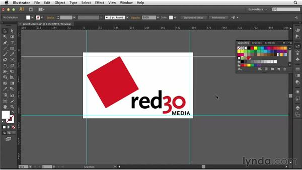 Creating print- and screen-ready logos: Designing a Logo for a Media Company