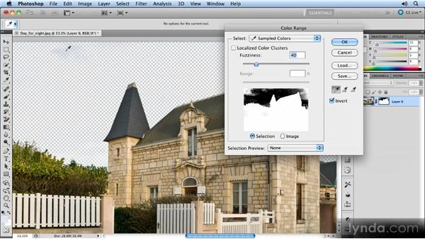 Removing the sky: Layer masks: Photoshop Artist in Action: Steve Caplin's Day for Night