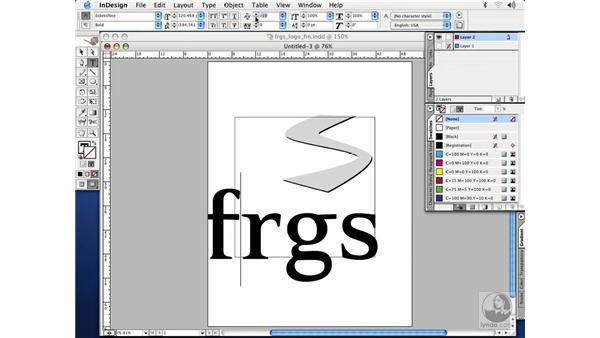 creating a logo: InDesign CS Essential Training