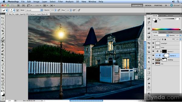 Painting in the light: Photoshop Artist in Action: Steve Caplin's Day for Night
