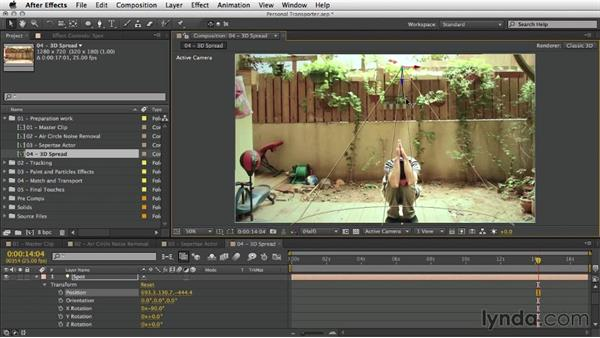 Welcome: After Effects Artist in Action: Eran Stern's Personal Transporter