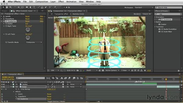 Creating the transporter effect: After Effects Artist in Action: Eran Stern's Personal Transporter