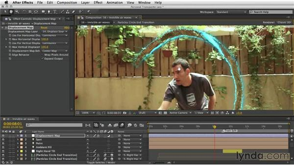 Adding invisible airwaves: After Effects Artist in Action: Eran Stern's Personal Transporter
