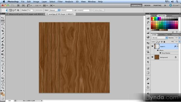 The floor: Creating a Hallway Scene with Photoshop