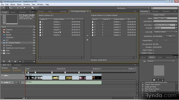 Introduction: Up and Running with Encore CS5
