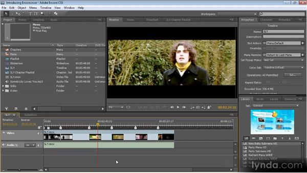 Getting to know Encore: Up and Running with Encore CS5