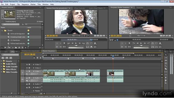 The Timeline: Getting Started with Premiere Pro CS5