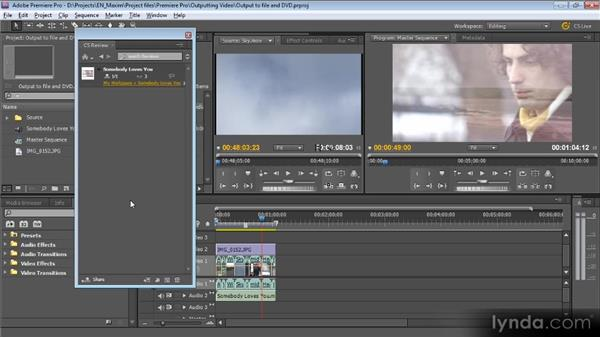 CS review: Getting Started with Premiere Pro CS5