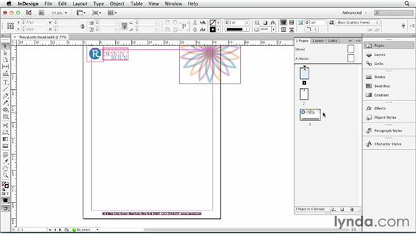 082 Putting different-sized pages on a single spread: InDesign Secrets