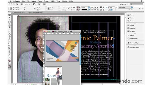 Managing more than one document window: InDesign Insider Training: Beyond the Essentials