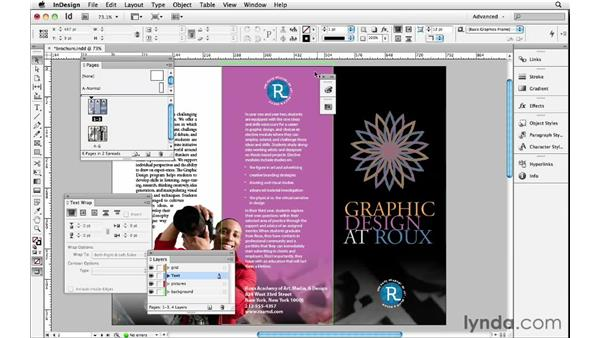 Positioning your panels: InDesign Insider Training: Beyond the Essentials