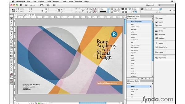 Saving a workspace: InDesign Insider Training: Beyond the Essentials