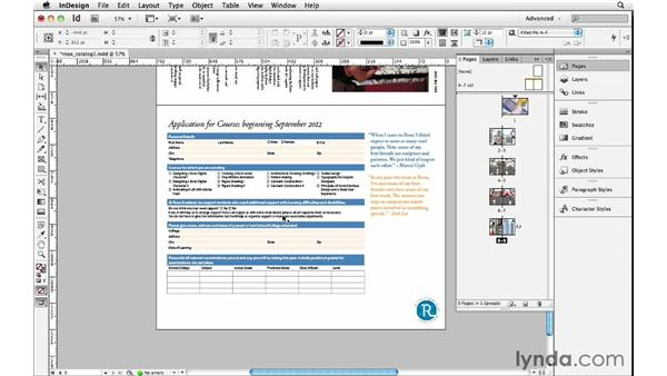 Rotating pages and spreads: InDesign Insider Training: Beyond the Essentials