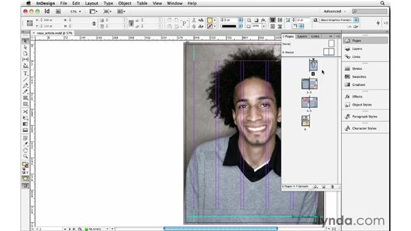 Starting a document on a left page: InDesign Insider Training: Beyond the Essentials