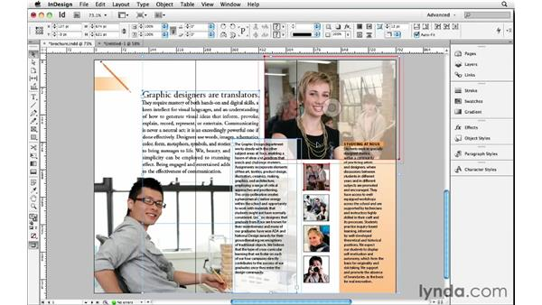 Exporting and importing page snippets: InDesign Insider Training: Beyond the Essentials